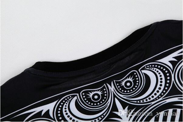 Großhandel Sommer Stil Hip Hop T-Shirt Männer / Frauen Spielkarten drucken 3D T-Shirt Harajuku Kleidung Camisa Masculina Größe S-3XLFree Versand