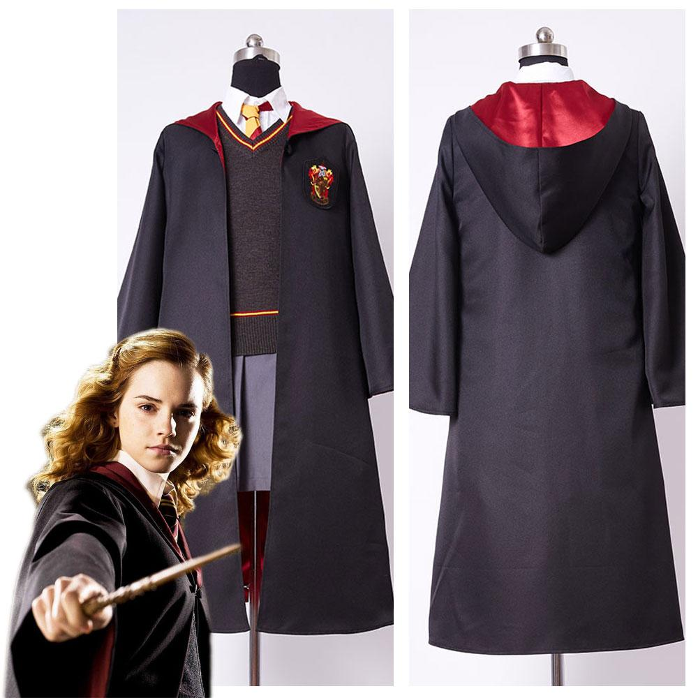 Adult Harry Potter Hermione Granger Cosplay Costume Adult Gryffindor Uniform Dress Set For Women Girls Cosplay Props For Sale Men Cosplay Costumes From ...  sc 1 st  DHgate.com & Adult Harry Potter Hermione Granger Cosplay Costume Adult Gryffindor ...