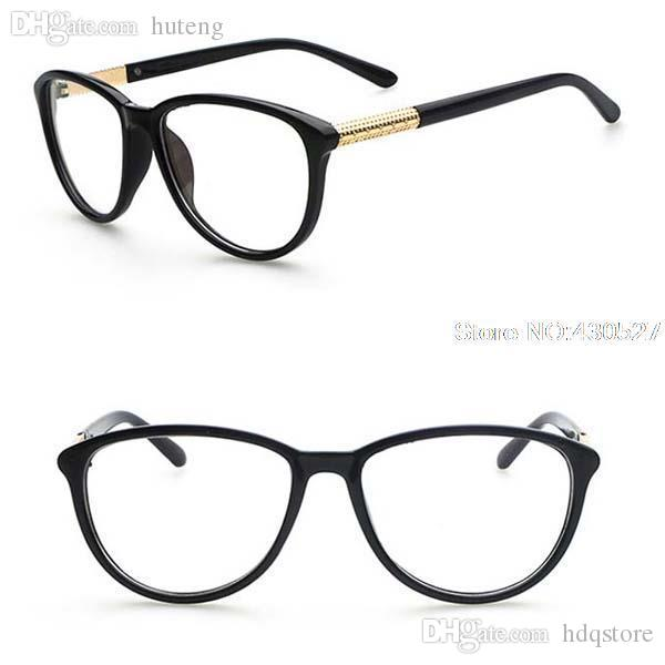 835b0066cc35 2019 Wholesale Fashion Vintage Designer Multicolor Myopia Glasses Frame  Women Men Small Round Prescription Eyeglasses Wholesale From Hdqstore