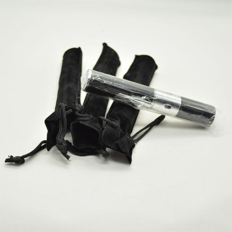 Aromatherapy lighter with Black velvet bag incense burner click n vape not for smoking metal pipe rasta sneak a toke