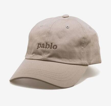 Pablo Custom Khaki Unstructured Baseball Dad Hat I Feel Like Pablo Cap TLOP  Kanye West 6 Panel Cap Hat New Casquette Bone Gorras 47 Brand Hats Vintage  ... a3e3153b89e4