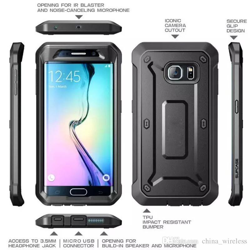 sneakers for cheap 1866f 6d4bd S7 S7 edge Belt Clip Holster Case Unicorn Beetle PRO Series Heavy Duty 2  in1Supcase hybrid cases for I phone 6 6s 6plus