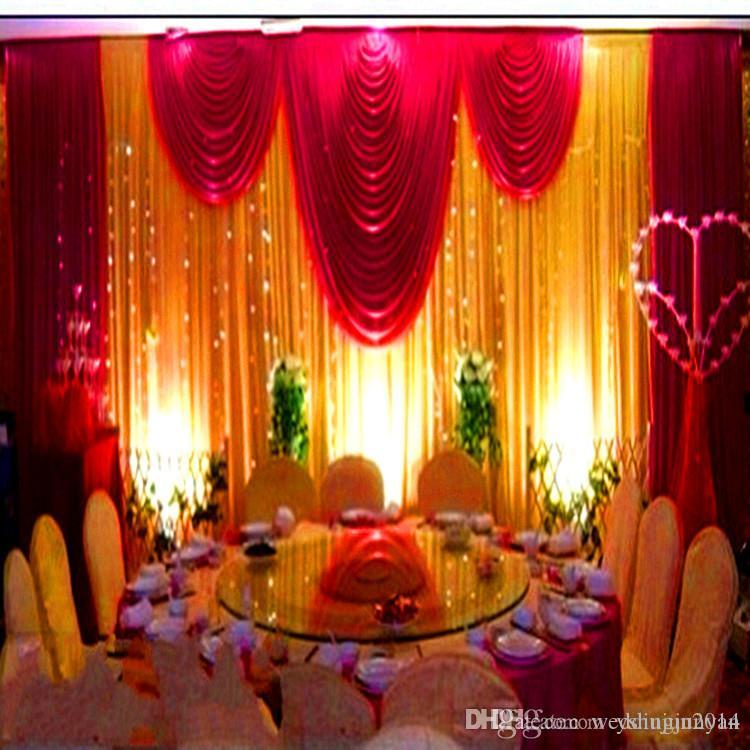 Wedding decorations props 3m6m sequins beads edge design fabric wedding backdrop curtain party stage celebration favors wedding decoration checklist wedding decoration ideas diy from weddingjunyan 13066 dhgate junglespirit Gallery