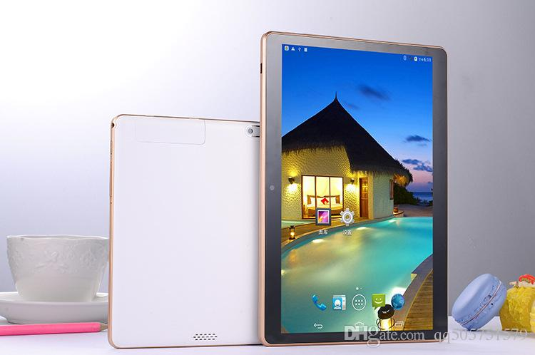 """Good quality 10"""" tablet pc 10 inch Android 5.0 Quad core 1.66GHz tablets 2GB Ram 16GB Rom 7800mAh batter with Leather cover DHL Free"""