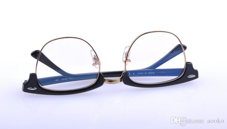 في الرجال النساء نادي النظارات البصرية الإطار الرئيسي مصمم النظارات سيد نظارات القراءة وصفة الكمبيوتر نظارات 49 ملليمتر / 51 ملليمتر