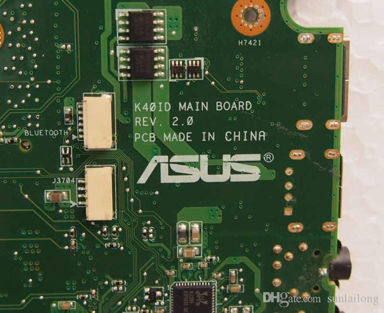 k40id REV 2.0 Main Board for asus k50id Laptop Motherboard NVIDIA Geforce 320M 1G GPU