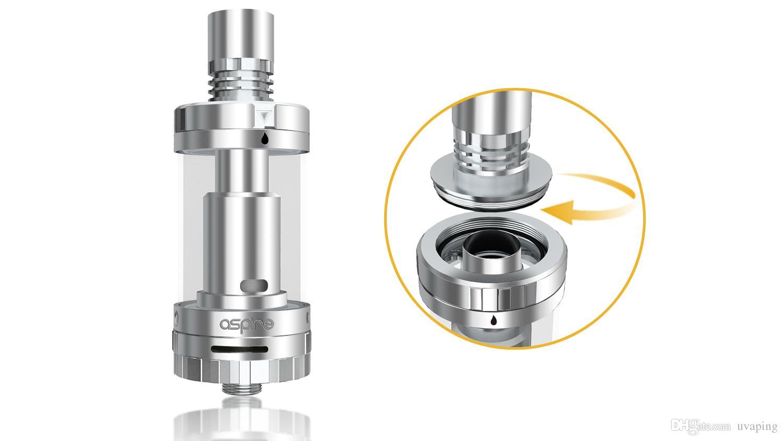 Aspire Triton 2 Бак для капельного наконечника Контроль потока воздуха 3 мл Triton 0.3 / 0.4oh Subohm RBA Atomizer nautilus mini 100% оригинал