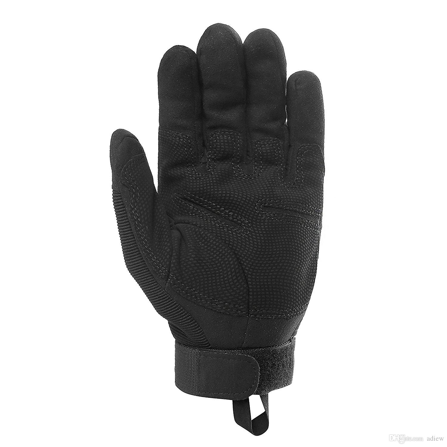 Army Tactical Gloves Military Rubber Hard Knuckle Full Finger Gloves for Cycling Motorcycle gloves
