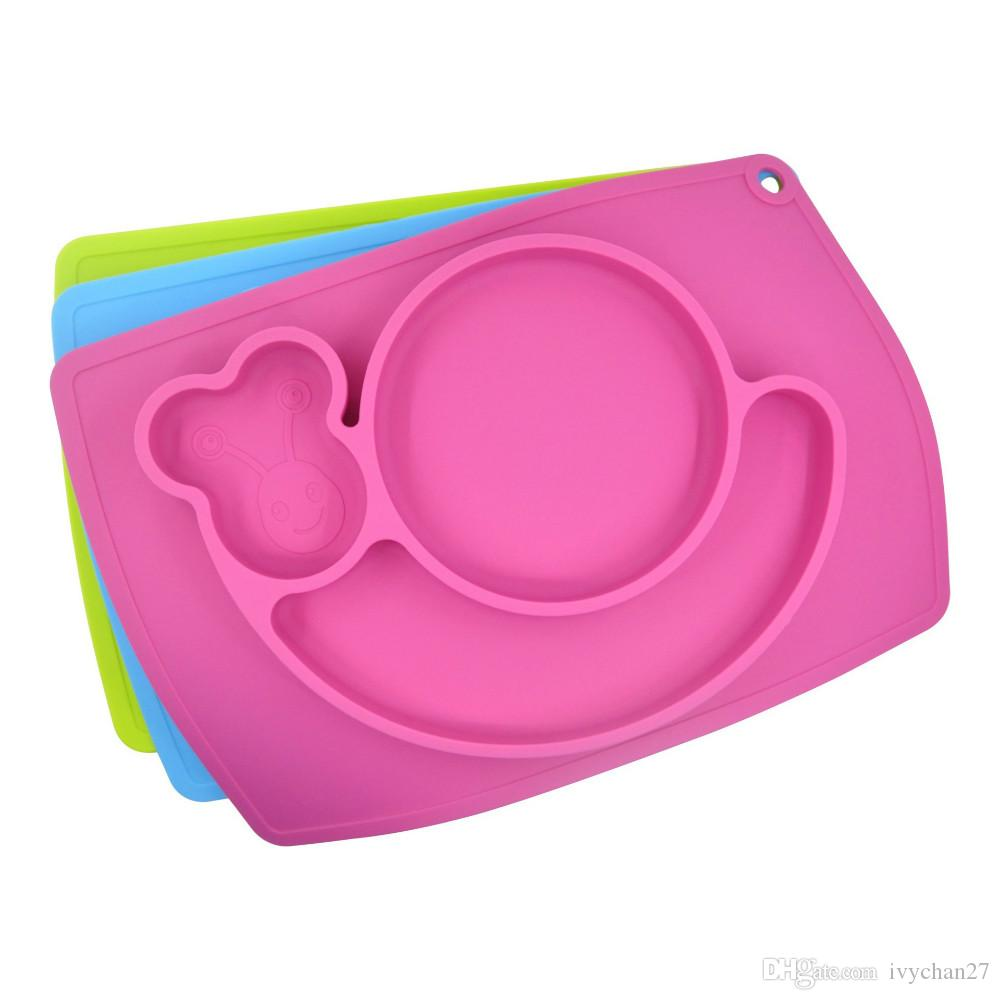 baby placemat platetray suction patterns silicone placemats  -  baby placemat platetray suction patterns silicone placemats for kidscm placemat for restaurant easy to clean silicone mat from ivychan