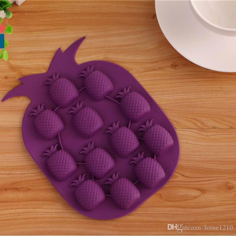 Brand New Ice Maker Mould Bar Party Drink Ice Tray Pineapple Shape Ice Cube Freeze Mold