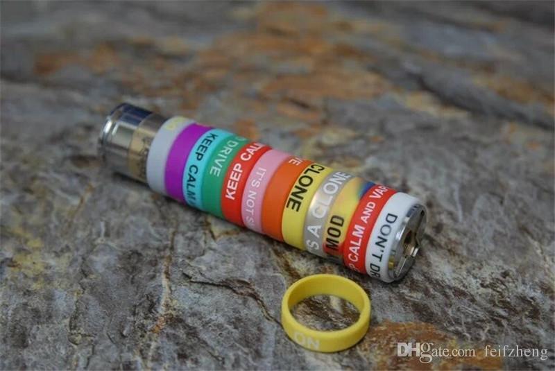 Silikonband vape schönheit ring für mechanische mods rba rda zerstäuber dekorative schutz rutschfeste mech mod e-cig igo m achse affe kleiner junge