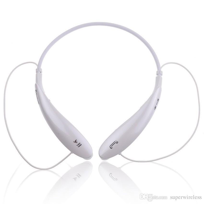 Спорт HBS800 Bluetooth-гарнитура Беспроводные наушники Спорт Bluetooth-гарнитура 3.0 Гарнитура Hands-Free наушники-вкладыши для iphone samsung LG xiaomi