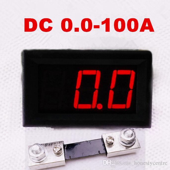 10 conjuntos de 100A resistor de derivação para Amperímetro Amperímetro + 0.56