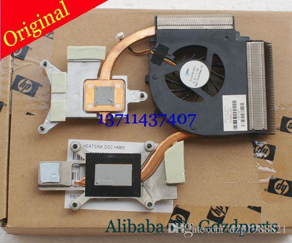 Cooler pour HP DV7 DV7-3000 DV7-3001TX DV7-3001TX DV7-3080CA Dispositif de radiateur de refroidissement pour ordinateur portable avec ventilateur 587244-001 582322-001 KSB0505HA-9B32