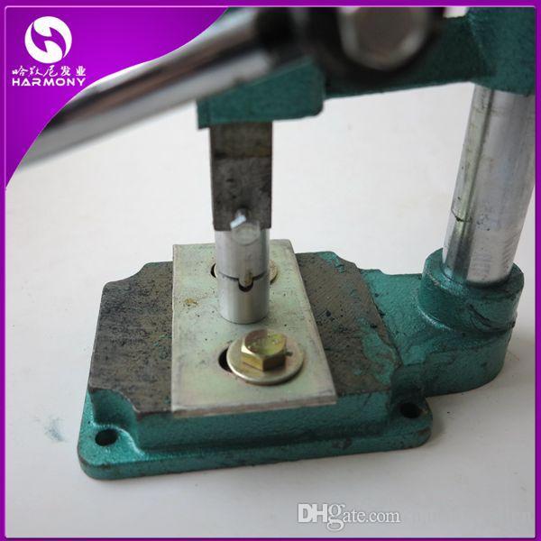 Extension directe de la machine de liaison d'extension de cheveux de la kératine avec le moule de forme pour la machine de liaison de cheveux