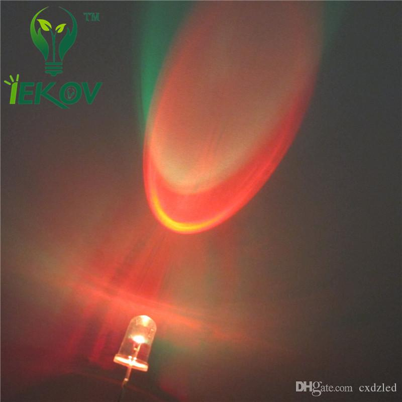 LED 5MM RGB Slow Flash Red Green Blue Rainbow MultiColor Emitting Diodes Round Strobe LEDs Lamp LIGHT Active Components
