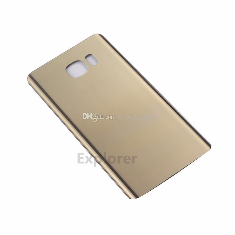 OEM Battery Door Back Cover Glass Housing + Adhesive Sticker For Samsung Galaxy Note 5 N9200 N920V N920F VS N920T N920P