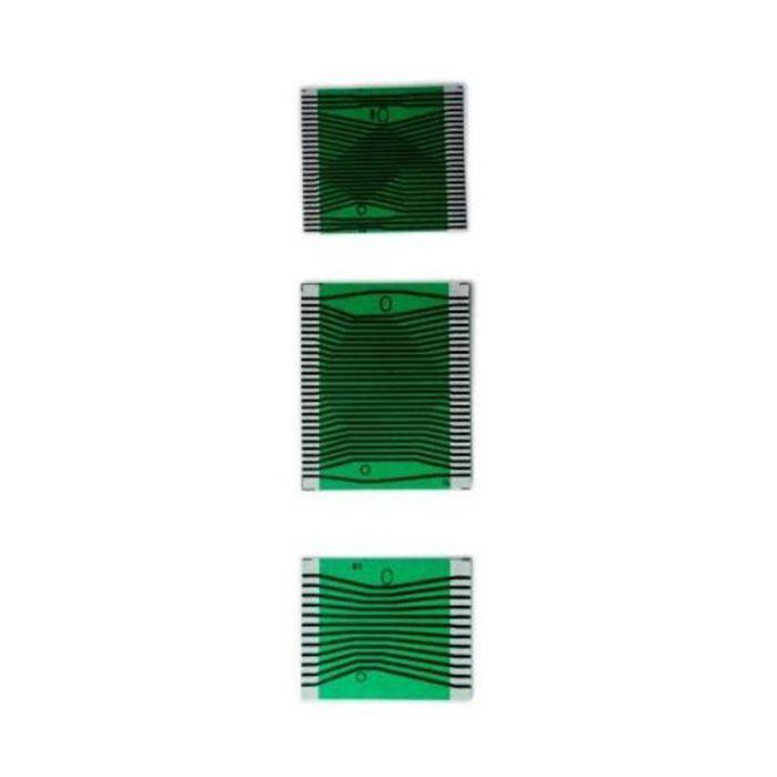 Carkitsshop 40 pz MB W210 W202 W208 LCD cruscotto pixel morti riparazione Cavo a Nastro sinistra medio destra set completo