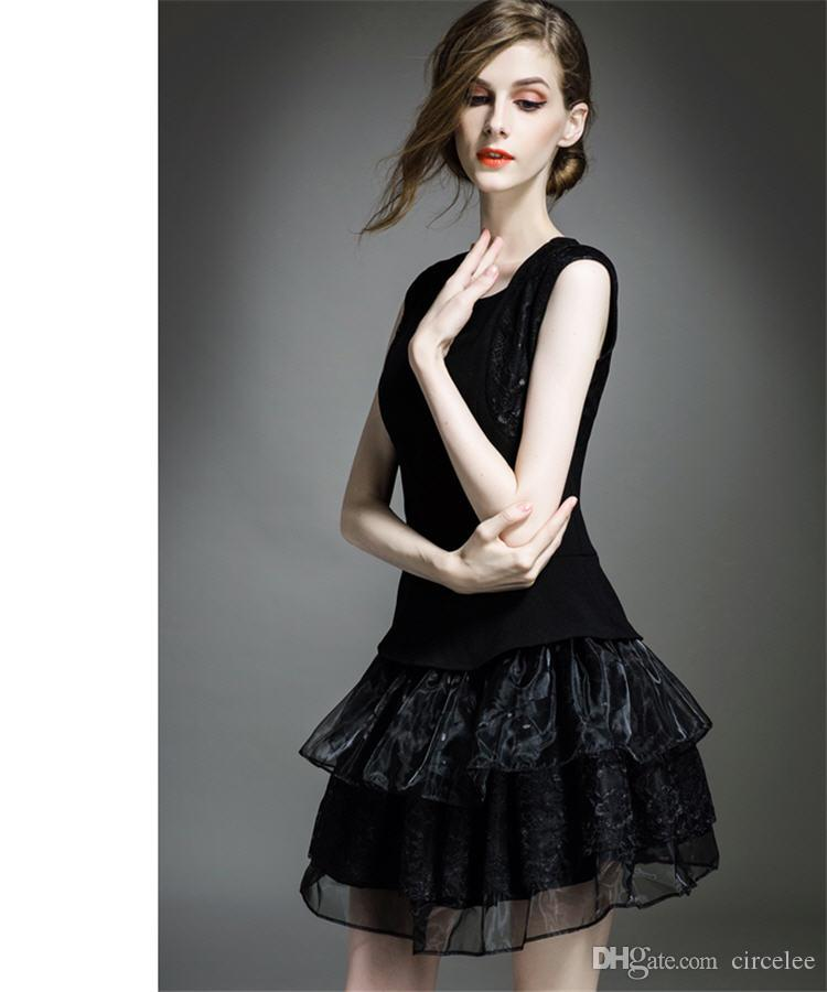 Classic Black Evening Wear Dresses Sweety Short Cocktail Dresses Online Cheap Lovely Formal Wear Best Party Celebrity Dresses