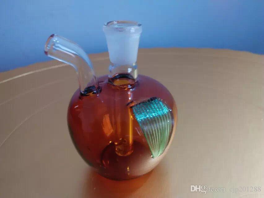 Apple Hookah , Wholesale Glass Bongs, Glass Hookah, Smoke Pipe Accessories
