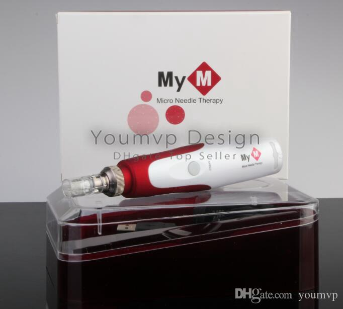 MYM Derma Pen 5 Speed Auto Electric Mirco needle derma pen MYM ULTIMA N2-C dermapen with needles cartridge