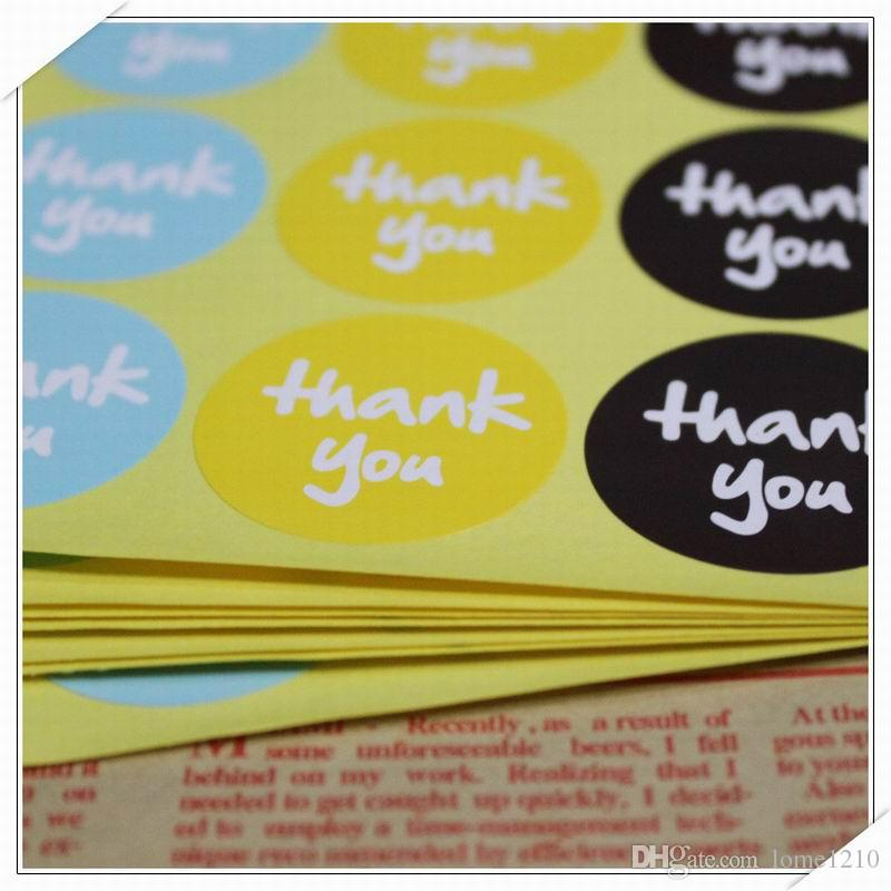 Etichetta Etichetta Grazie Tag Etichetta regalo Etichetta marchi Decorazioni Moda Accessori fai da te vintage decorazione di nozze