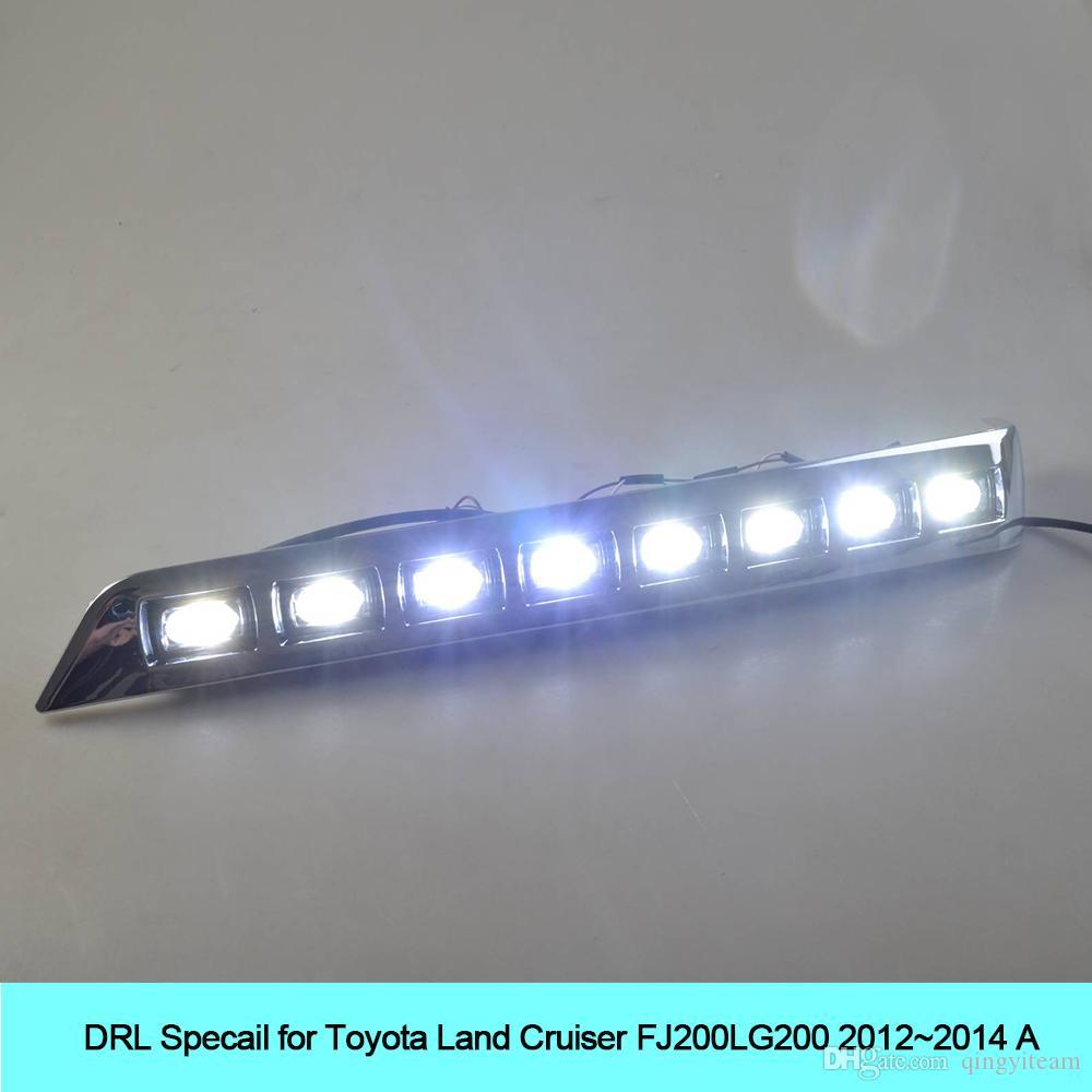 Großhandel Auto Drl Kit Für Toyota Land Cruiser Fj200 Lc200 2012 ...