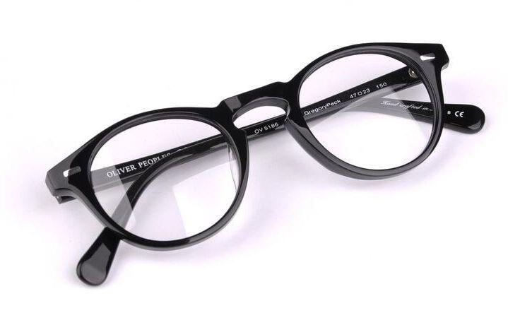 0149e089cc8 2019 Vintage Optical Glasses Frame Oli Peoples Ov5186 Eyeglasses Gregory  Peck Ov 5186 Eyeglasses For Women And Men Eyewear Frames From Goodluck686