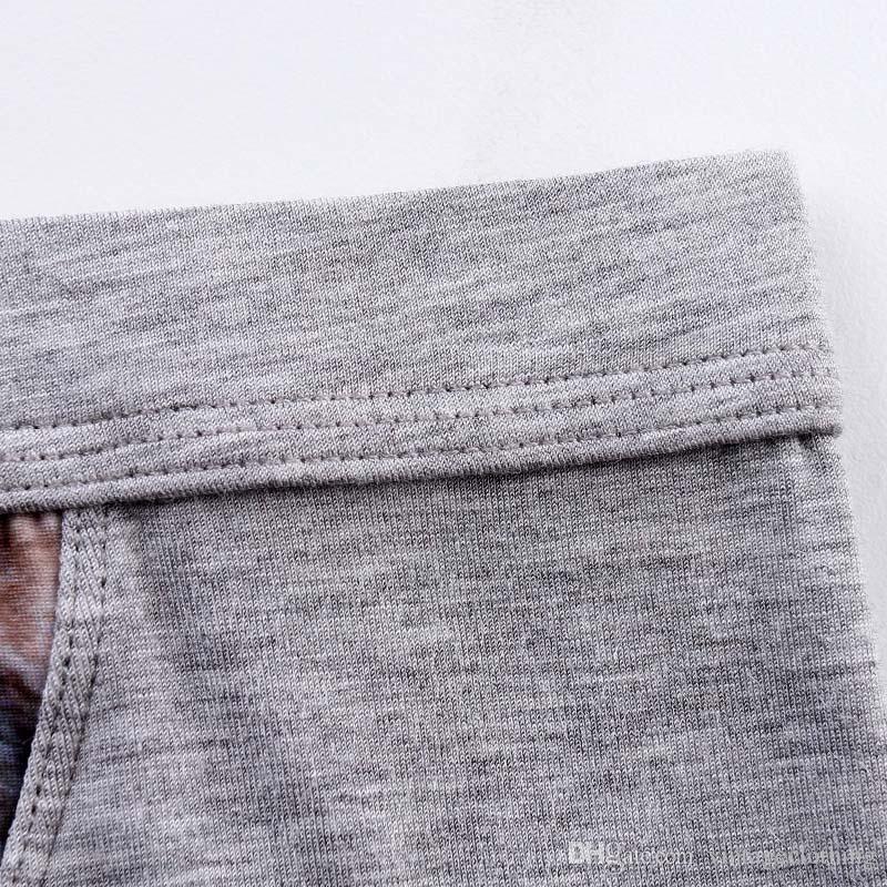 3 Stück Los große Männer Unterwäsche Boxershorts Baumwolle Neue Marke Design Boxer Wolf Gedruckt Engen Bund Männer Lkw Qualität Unterhose