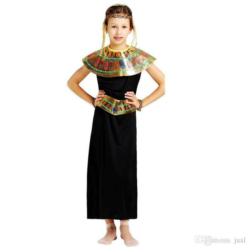 Kids Girls Black Princess Eypt Theme Costume Elegant King Queen Pharaoh Cosplay Clothing Set Halloween Carnival Costumes Fancy Dress Halloween Themes ...  sc 1 st  DHgate.com & Kids Girls Black Princess Eypt Theme Costume Elegant King Queen ...