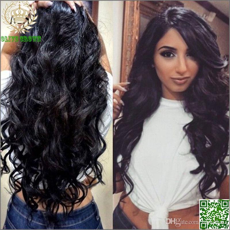 Необработанный перуанский парик человеческих волос шнурка фронта парика фронта шнурка человеческих волос шнурка тела волны полный с волосами младенца