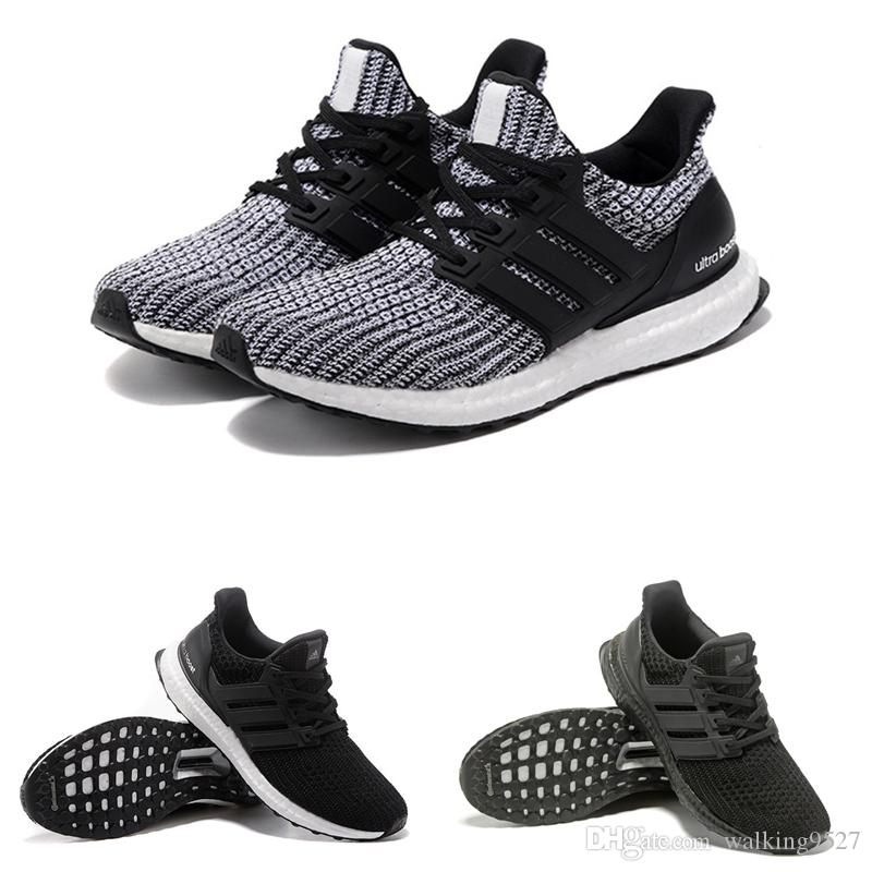Ultra BOOST UB4.0 Wholesale 2017 Adidas Triple Primeknit Oreo CNY Blue Grey  MenS Women Running Shoes Ultra Boosts Ultraboost Sport Sneake Yeezy Boost  V2 ...