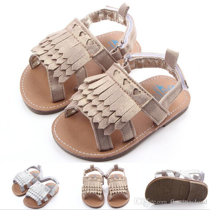 2019 Baby Girl Sandals Baby Tassel Girl Shoes Chaussure Fille Baby First  Walk Shoes Kid Shoes Toddler Baby Sandals Moccasin Newborn Infant Shoes  From ...