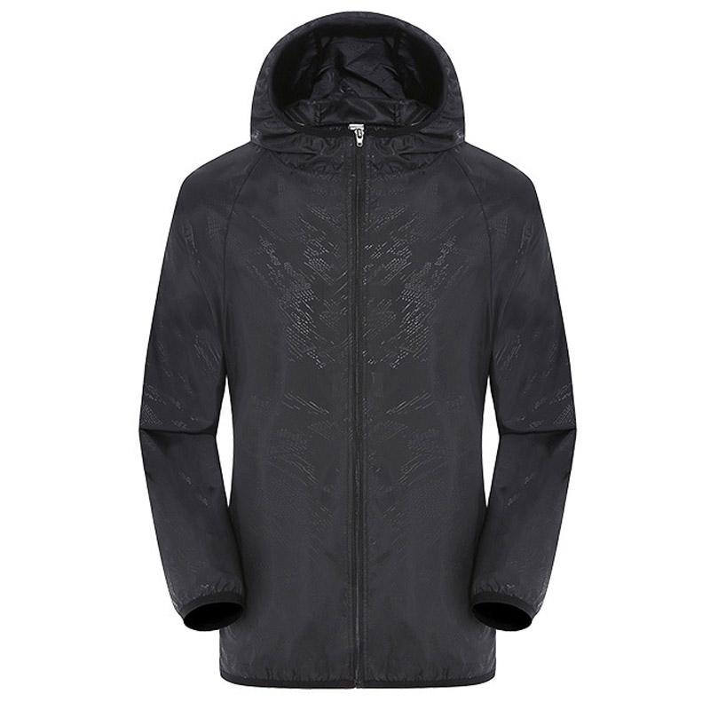 Männer Frauen Quick Dry Wandern Jacke Wasserdichte Sonnenschutz Anti-UV-Mäntel Outdoor Sport Haut Jacken Regen Tragen Jacken