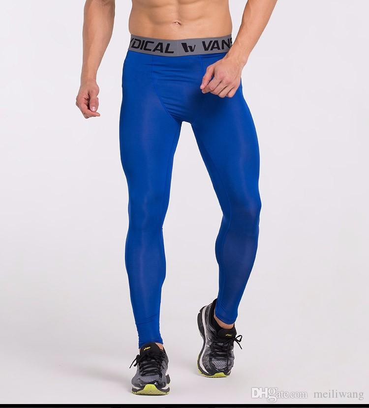 6e27420a31 2019 Mens Compression Pants Tights Base Layer Sports Pants Leggings Running Tights  Compression Running Sports Leggings From Meiliwang, $64.98 | DHgate.Com