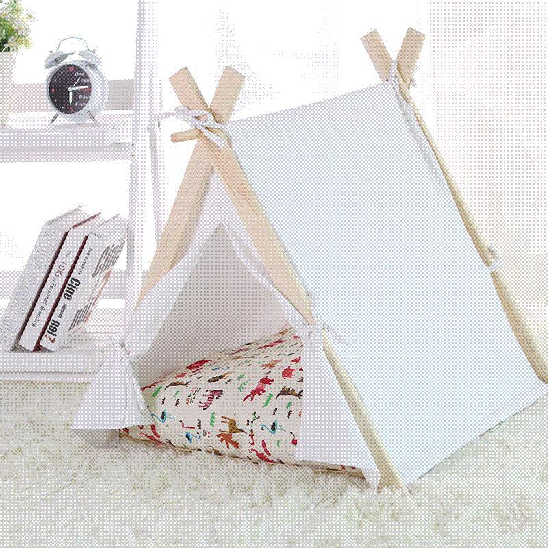 Discount High Quality South Korean Craft Bed For Dogs Princess Pet Dog Cat Tent 100% Cotton Pet House Dog Beds For Small Dogs 4 Styles From China | Dhgate. & Discount High Quality South Korean Craft Bed For Dogs Princess Pet ...