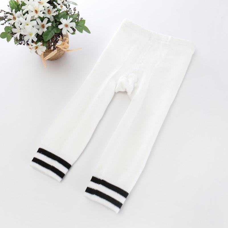 Striped Baby Leggings Unisex Fashion Warm Slim Pants Thick Leggings Cotton Baby Tights 17103105