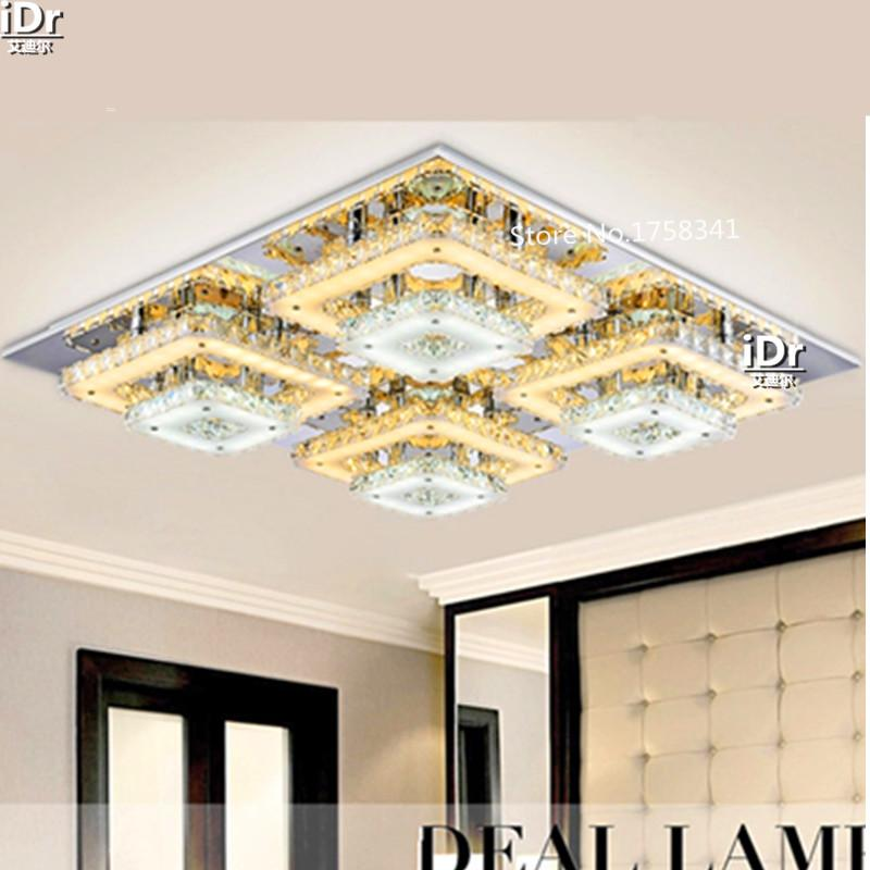 Hot Sale Bedroom Led Chandeliers Modern Diamond Crystal Lamps ...