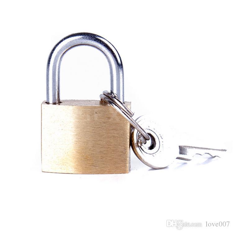 tipo Aberto cadeado de bloqueio de cobre para a boca pequena bola plugue cinto de ligação