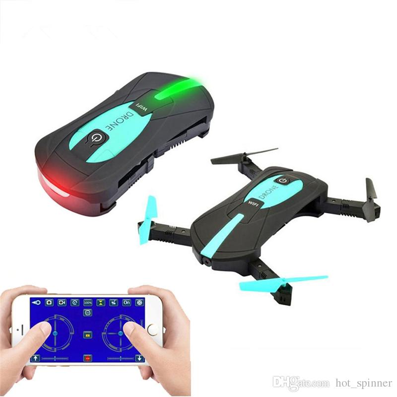 Mini Pocket Drone Jy018 Smartphone Remote Control RC Foldable Quadcopter  Drones Helicopter With 0 3MP Wifi FPV Camera Retail Package