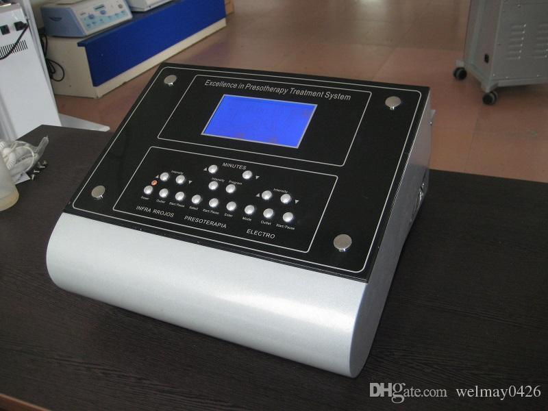 3 em 1 equipamento de drenagem linfática de massagem de pressão de ar infravermelho