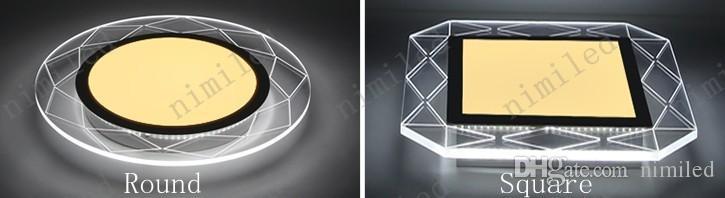 nimi709 Moderne Minimaliste LED Rond Carré Acrylique Plafond Salon Lampe Chambre Chambre Hall Salle D'étude Lumières Creative Restaurant Éclairage