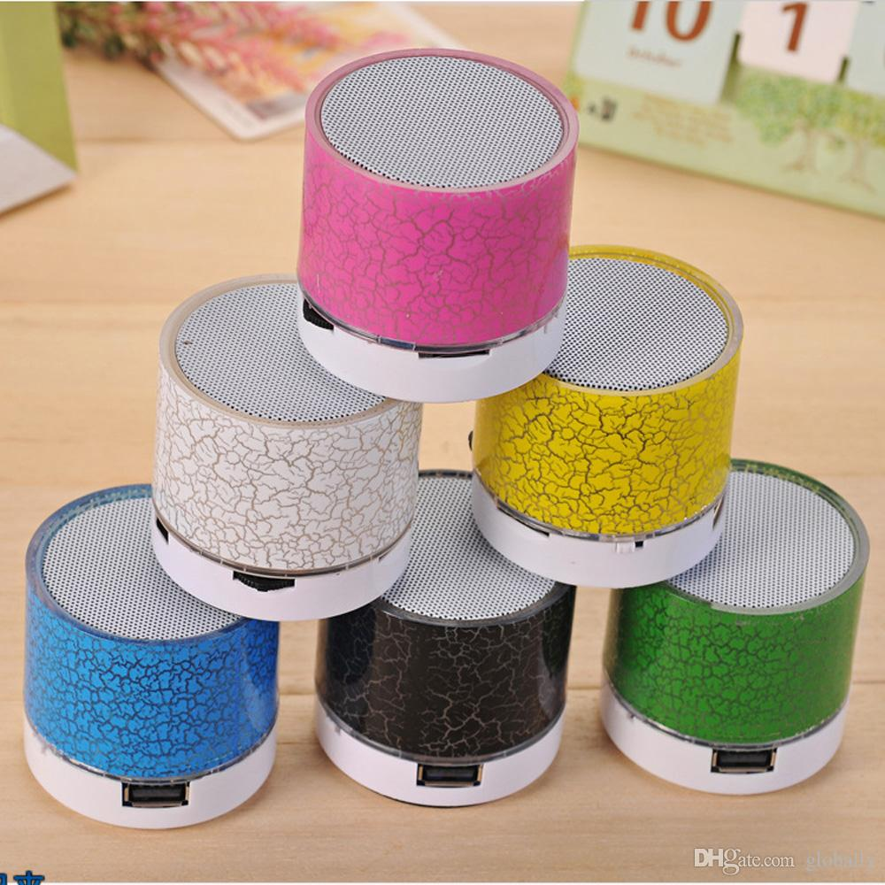 A9 Wireless Bluetooth Speaker Portable LED MINI Hands Free TF USB Subwoofer Music Sound Player For Car Phone iphone PC