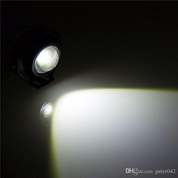 L.m 12v 10w cree carro moto levou águia olhos dirigindo lâmpada de nevoeiro Drl branco