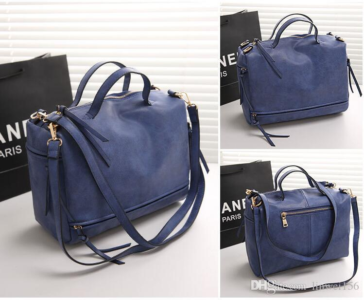 2016 Women Leather Handbags Famous Brand Fashion Designer Shoulder ...