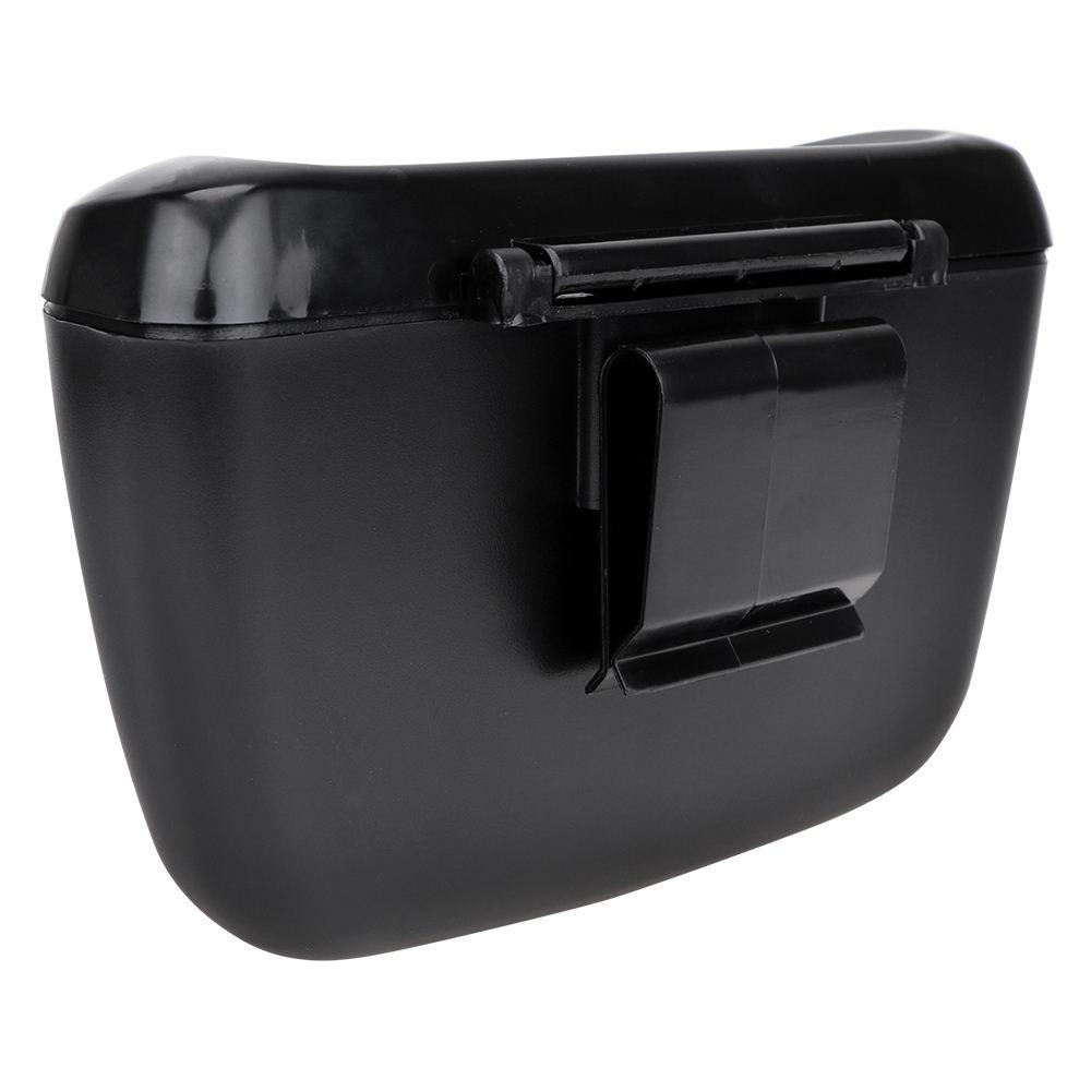Trash Can Garbage Dust Case Box Auto Rubbish Dustbin Car Organizer Auto Accessories Car Set Back Storage Can Bucket Trash Bin