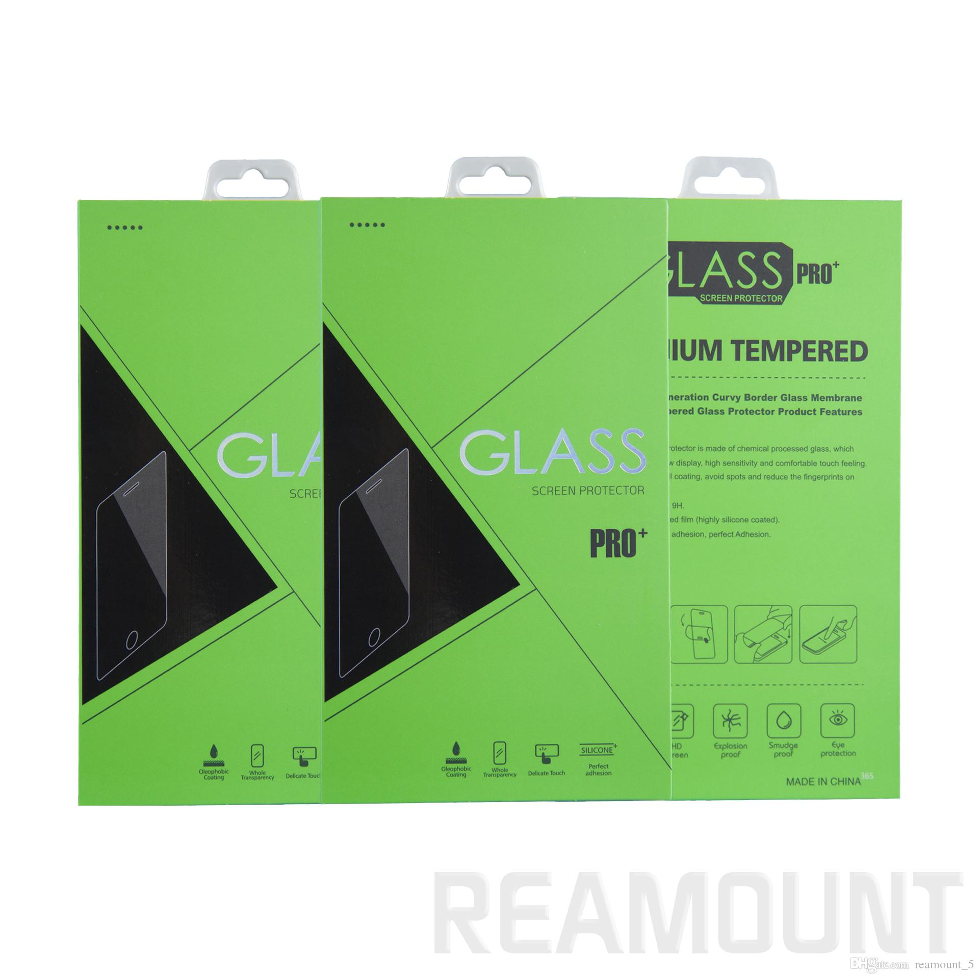 OEM Paper Packaging Package Retail Box for OPPO for iPhone Mobile Phone Tempered Glass Screen Protector Box