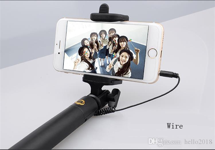 selfie stick The new three generations with a line of mobile phone self-timer bar self-timer shot a key self-timer mobile phone GM
