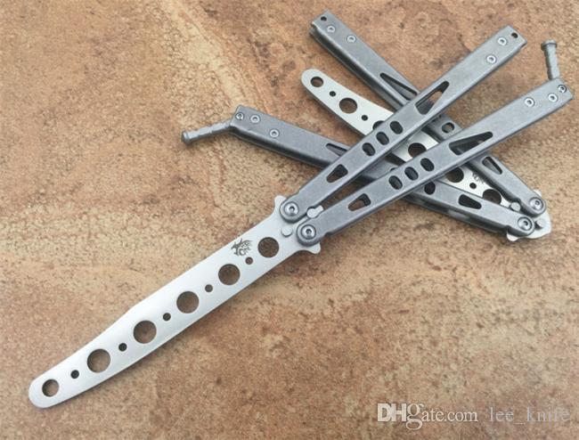 A única exercerá o feixe de partículas mangual Hunting Folding bolso mangual faca de sobrevivência faca Xmas Unknifed Artesanato Faca presente