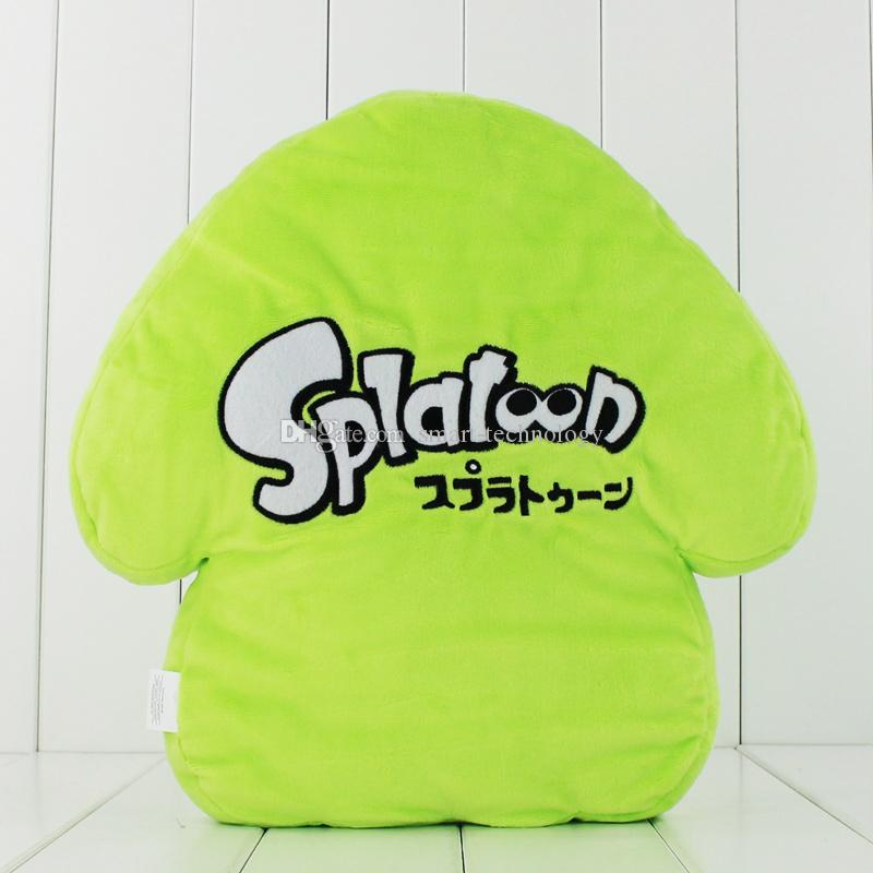 32cm Anime Splatoon Cool Squid Pillow Plush Soft Stuffed Doll Toy for kids gift EMS